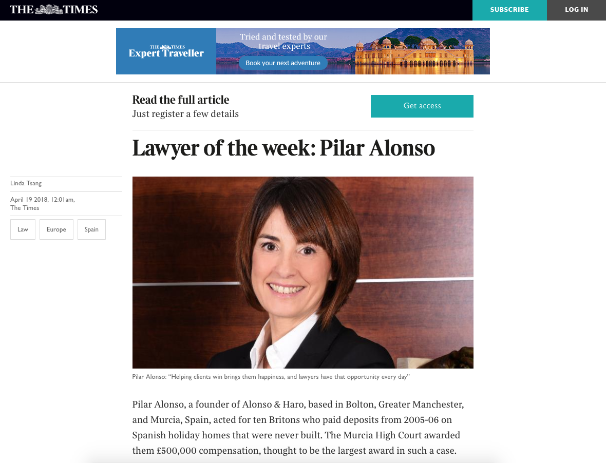 Lawyer of the week